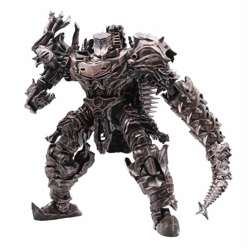 AOYI LS11 LS-11 Transformation Action Figure 37cm Scorn Dinobots Ancient Behemoth Dinosaur Movie Model Alloy Abs KO Deformation